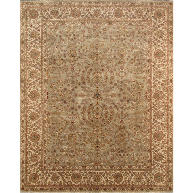 """Pasargad Tabriz Collection Rug - 8'x10'1"""" - Image 1 of 2"""