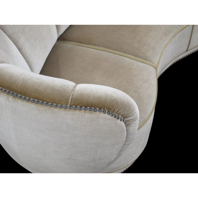 1930's Scandinavian Deco Mohair Sofa For Sale - Image 9 of 13