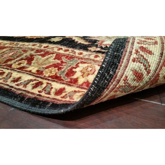 Traditional 10 Ft. Handmade Knotted Runner Rug - 2′11″ × 10 - Image 3 of 3
