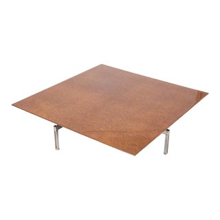 """Onda"" Square Coffee Table by Giovanni Offredi for Saporiti Italia For Sale"
