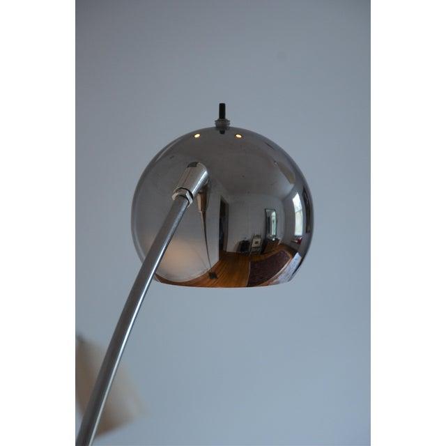 Mid-Century Sonneman Style Eyeball Floor Lamp | Chairish
