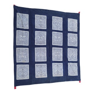 Hanging Batik Panel/Bed Cover For Sale