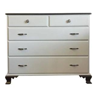 Paine Furniture Black & Gray 5-Drawer Dresser