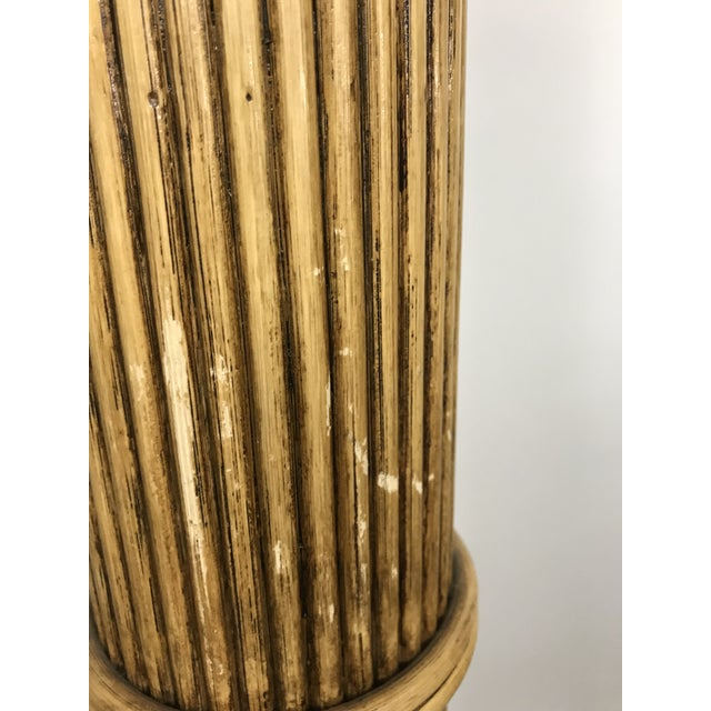 1970s Mario Lopez Torres Palm Tree Floor Lamp For Sale - Image 5 of 11