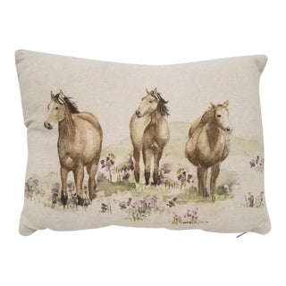 Horse Bolster Pillow For Sale