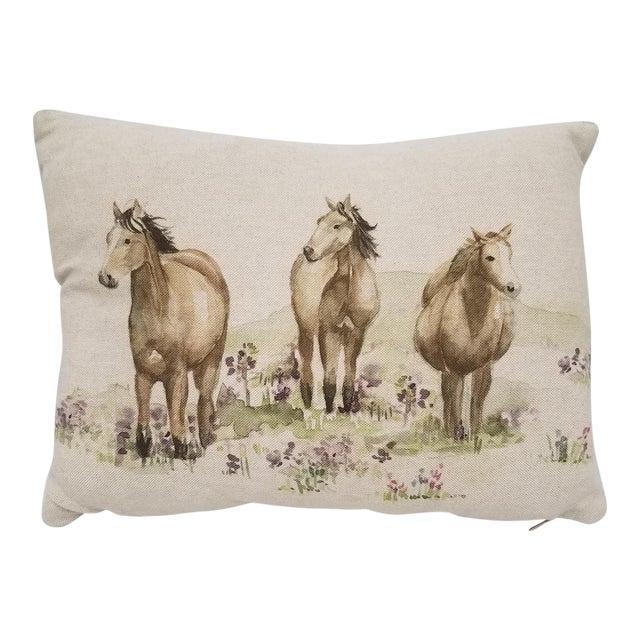Horse Bolster Pillow For Sale