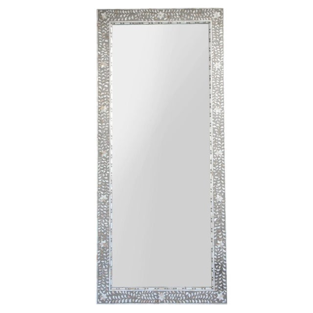 Inlaid Mother Of Pearl Full Length Mirror Chairish