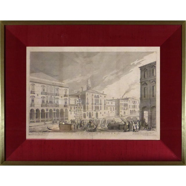 Rare Venice Engravings C. 1720 - Set of 15 - Image 9 of 10