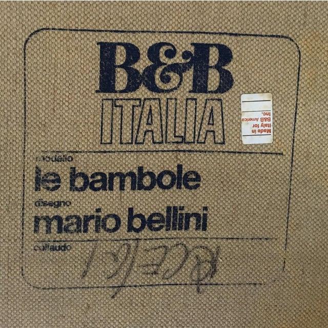 """Le Bambole"" Chaise by Mario Bellini for B&b Italia c.1972 - Image 5 of 5"