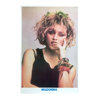 """1983 Iconic """"Madonna"""" Helmut Werb Photograph Collector's Poster For Sale"""