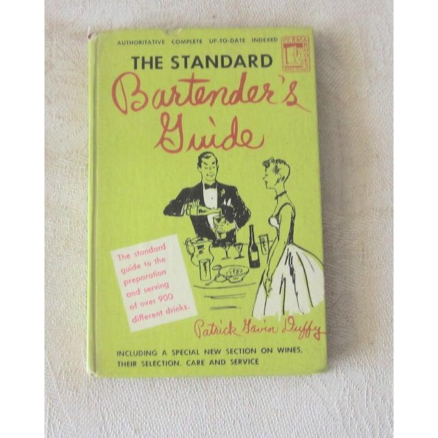 1948 Vintage ''The Standard Bartender's Guide'' Hardback Book by Patrick Gavin Duffy For Sale - Image 4 of 4