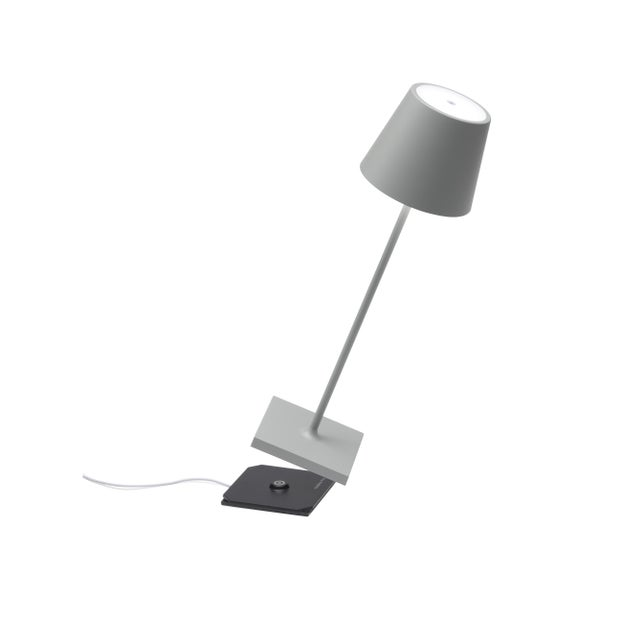 Features: - LED light with polycarbonate diffuser - 9+ hours cordless illumination - Indoor/outdoor use (powder-coated...