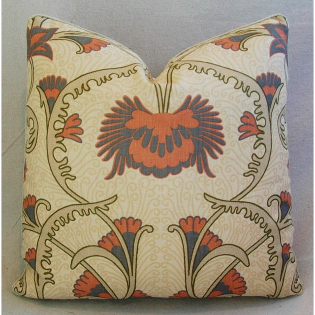 Designer Home Couture Contessa Linen Pillows - A Pair For Sale - Image 5 of 10