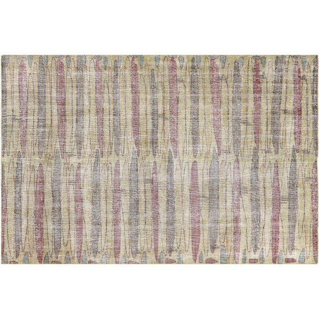 1960s 1960s Turkish Mid Century Carpet For Sale - Image 5 of 5