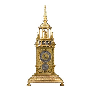 Renaissance Turret Clock, Early 17th Century For Sale