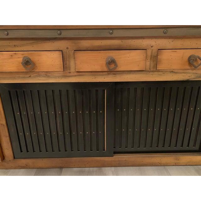 Roche Bobois Wood Buffet Sideboard Chairish