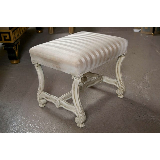 Regency Carved Stools - A Pair For Sale In New York - Image 6 of 8