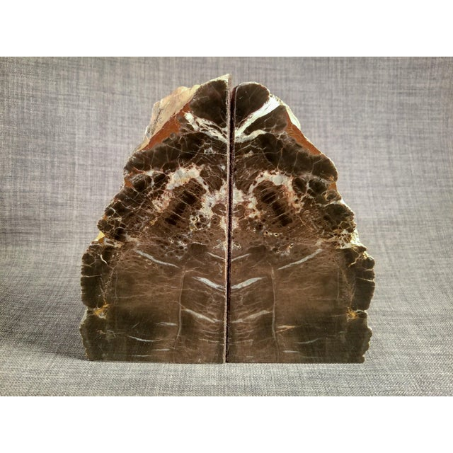 Petrified Wood Bookends - A Pair - Image 7 of 7