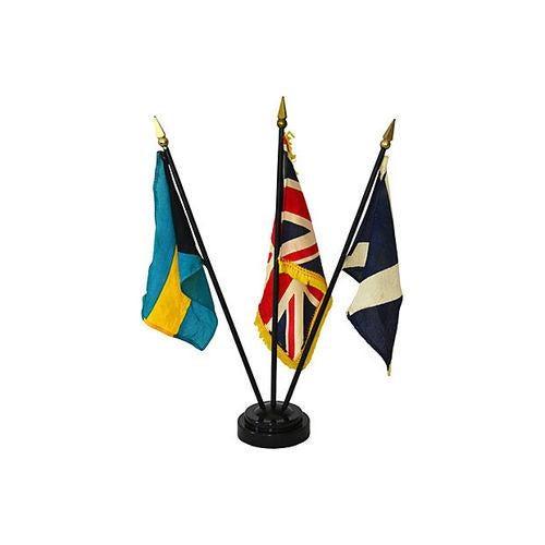 Vintage Petite Flag Stand - Image 2 of 6