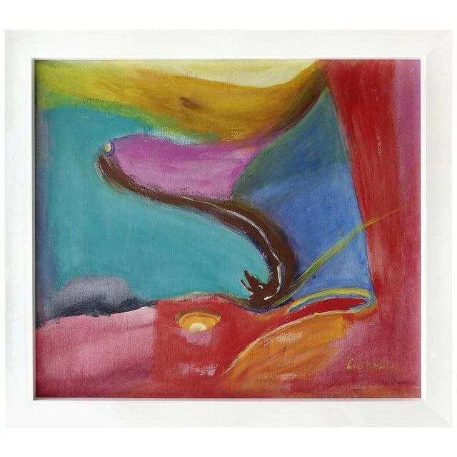 Abstract Modern Painting by Eve Wasser For Sale - Image 10 of 10
