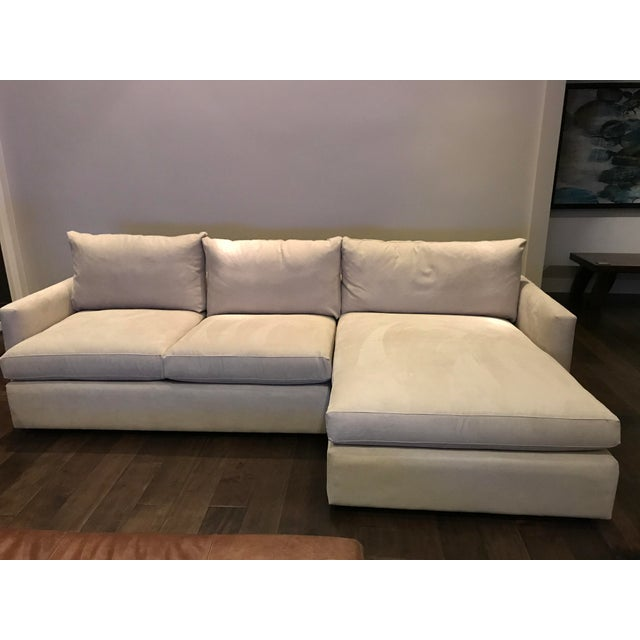 Crate & Barrel Lounge Petite Sectional