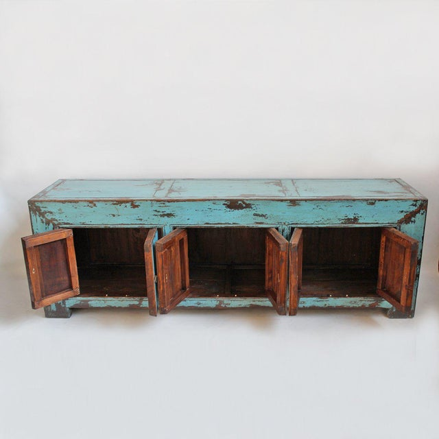 Turquoise Ming Media Cabinet - Image 4 of 5