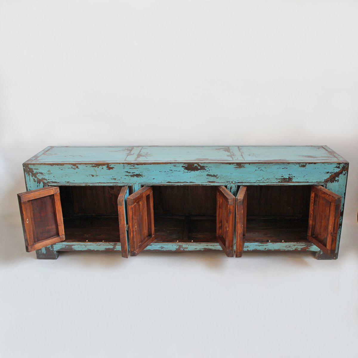 Turquoise Ming Media Cabinet For Sale   Image 4 Of 5