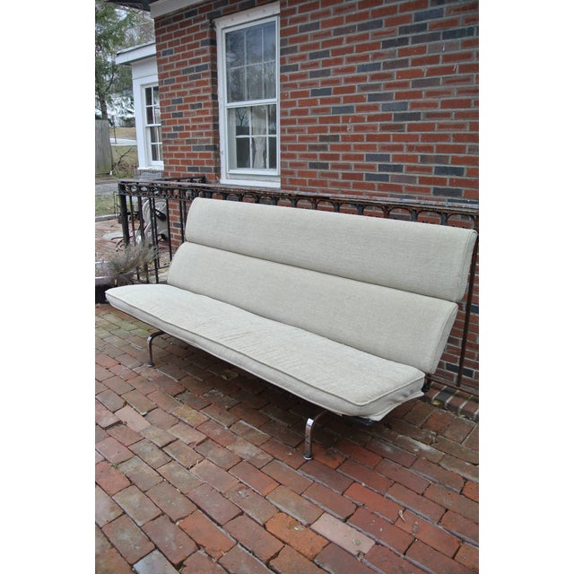 Charles Eames Compact Sofa for Herman Miller For Sale - Image 9 of 9