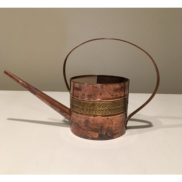 Copper and Brass Watering Can - Image 3 of 7
