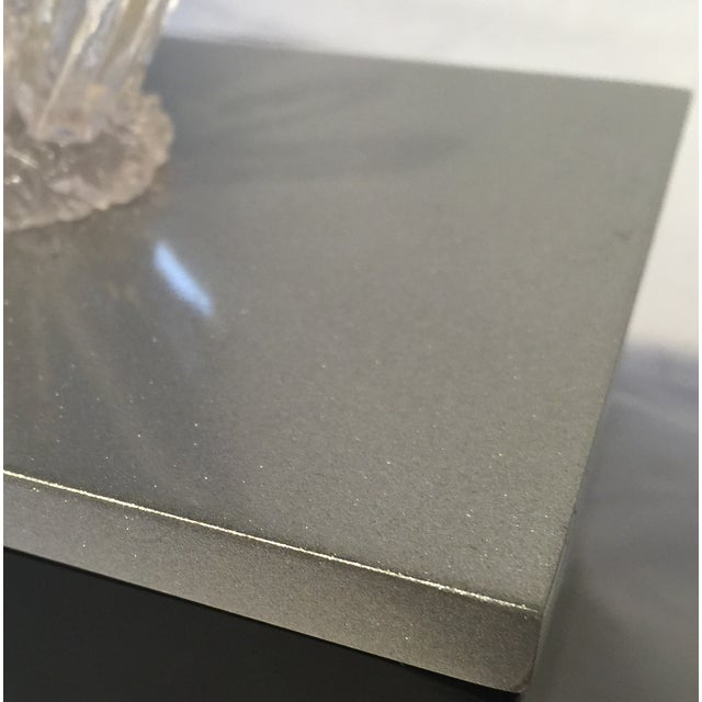 Black Lacquered Box with Faux Quartz - Image 8 of 8