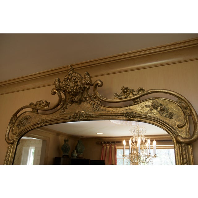 Roccoco Style Gilded Wood Mirror - Image 8 of 8