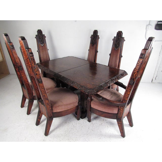 Brutalist Witco Style Dining Set by Willam Westenhaven For Sale - Image 13 of 13