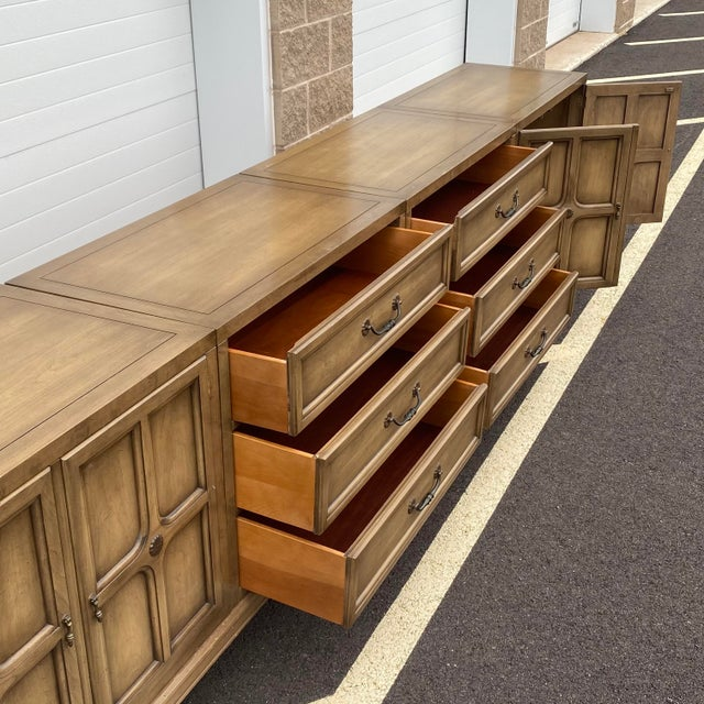 """Modular 129"""" Credenza by Union-National Inc. For Sale In Philadelphia - Image 6 of 13"""