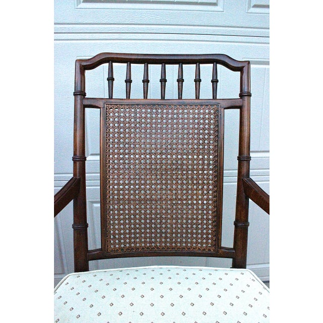 Century Furniture Faux Bamboo Dining Set For Sale - Image 12 of 13