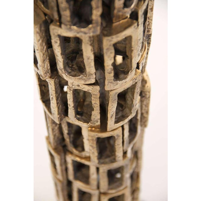 Bronze Sculptural Floor Lamp - Image 3 of 3