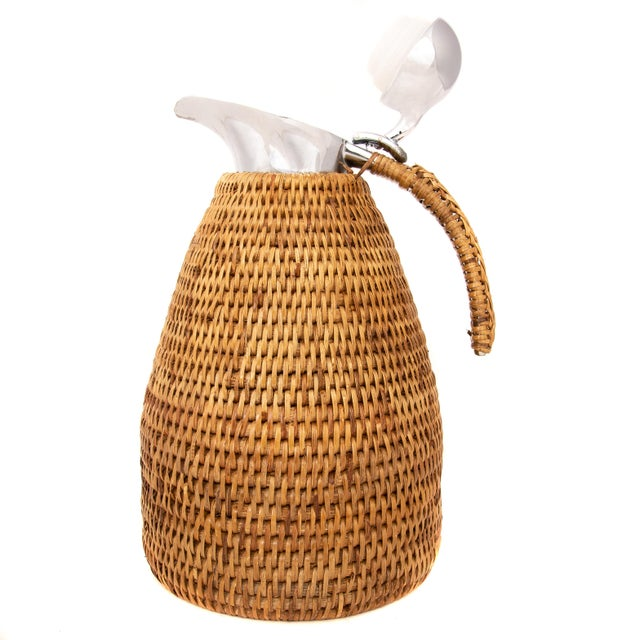 Boho Chic Boho Chic Artifacts Rattan 1.5 L Thermos For Sale - Image 3 of 5