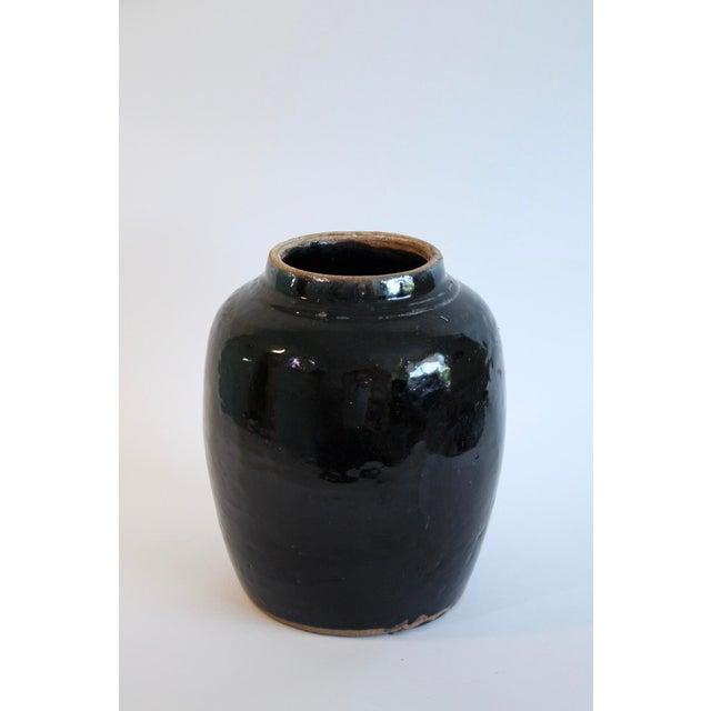 Turkish Glazed Pottery Urn - Image 2 of 5
