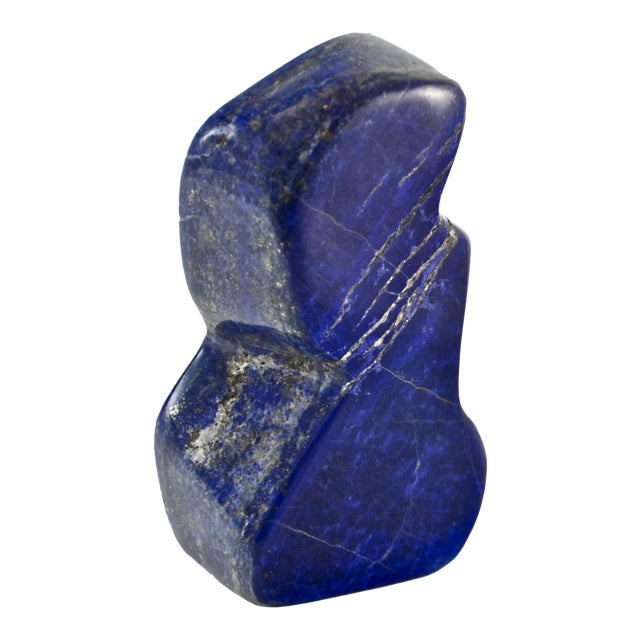 Carved Lapis Display For Sale