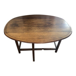 Late 20th Century Vintage Expanding Dining Table/Sideboard For Sale