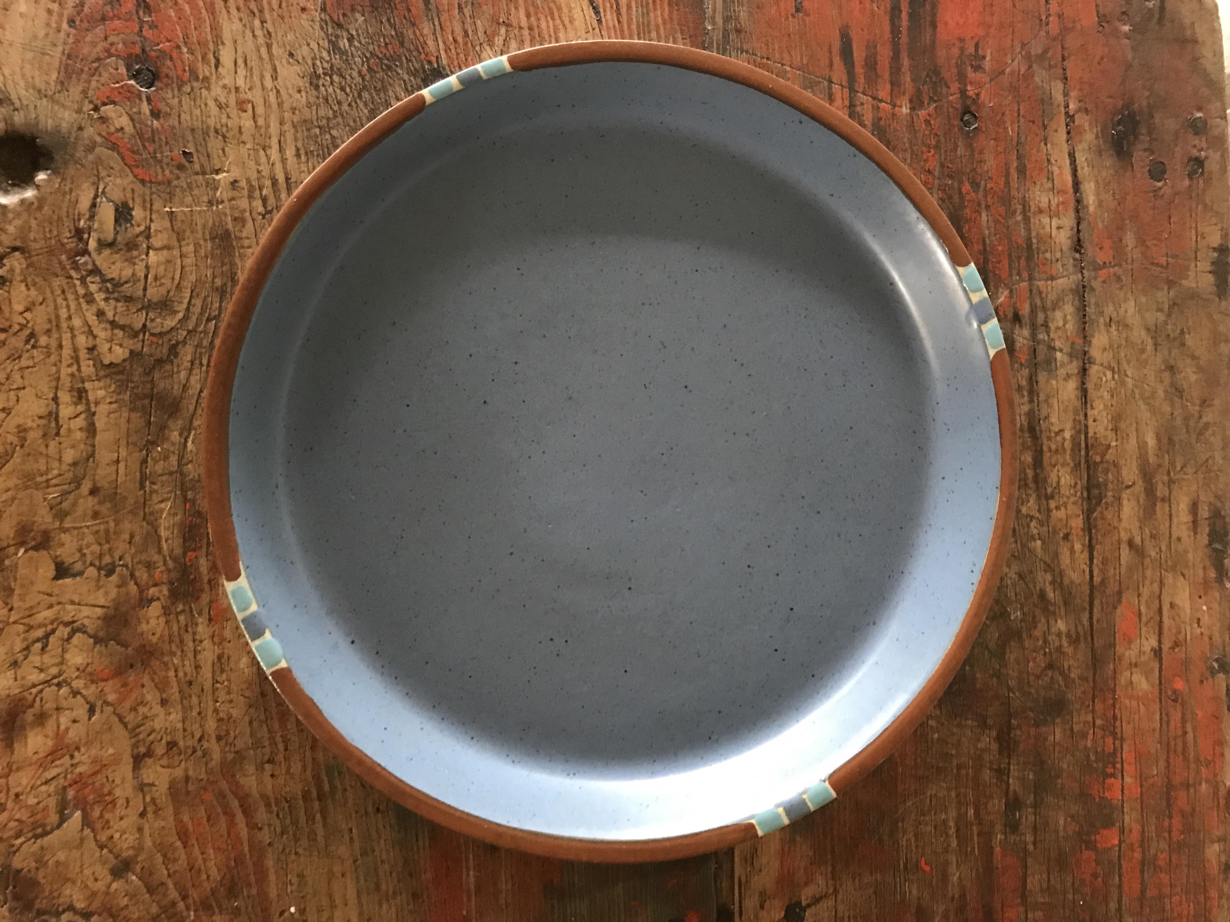 Dansk Mesa Blue Dinner Plates - Set of 4 - Image 3 of 7  sc 1 st  Chairish & Dansk Mesa Blue Dinner Plates - Set of 4 | Chairish