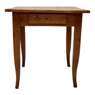 Pine Sabre Leg Writing Table