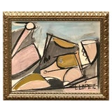 Image of Lucia Lopez Cubist Nude, 1960s For Sale