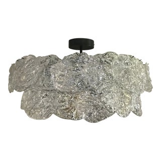 Contemporary John Pomp Studio Rock Edge Chandelier For Sale