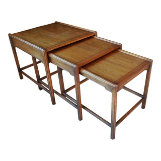 Drexel Heritage Mid-Century Modern Nesting Tables - Set of 3