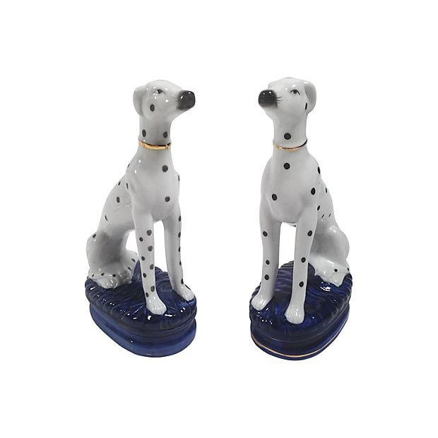 Staffordshire-Style Dalmations - A Pair - Image 2 of 5
