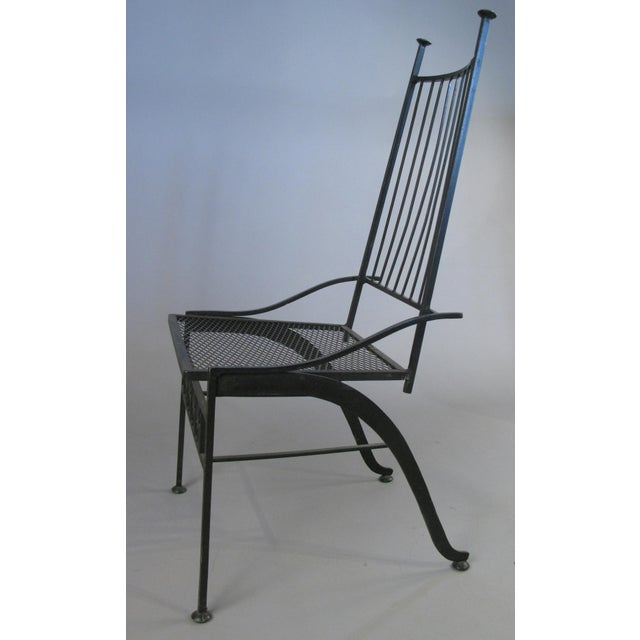 Set of Ten Rare Salterini El Prado Chairs For Sale - Image 9 of 13