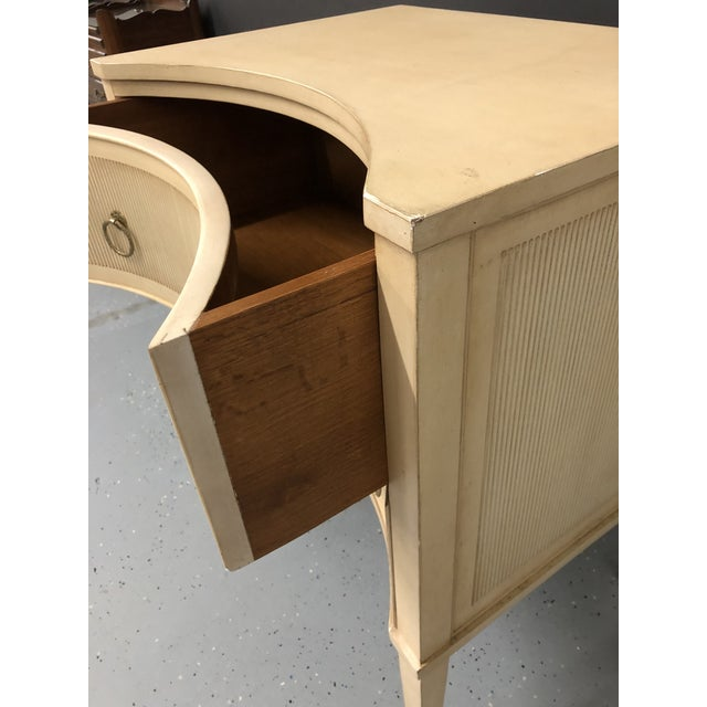 Early 21st Century Modern History Gustavian 2 Drawer Nightstand For Sale - Image 5 of 10