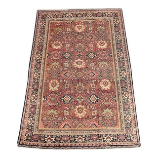"Antique Persian Handwoven Mahal Oriental Rug 6'9""x 10'7"" For Sale"