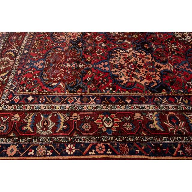"Textile Apadana - Antique Bakhtiari Rug, 10'6"" X 13'5"" For Sale - Image 7 of 10"