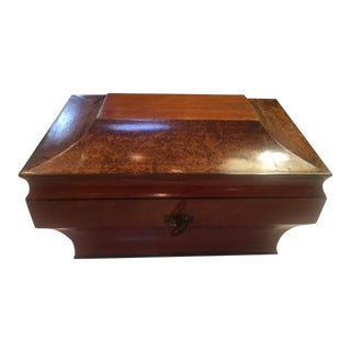 Early 19th Century Antique Sewing Box For Sale
